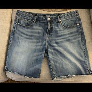 Vigoss Chelsea Distressed Shorts.